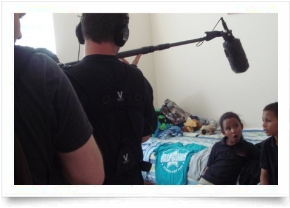 Filming for TLC and The Discovery Channel 'Tourettes Uncovered'