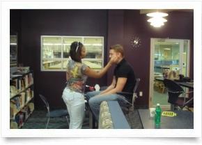 Jaylens Challenge PSA commercial shoot